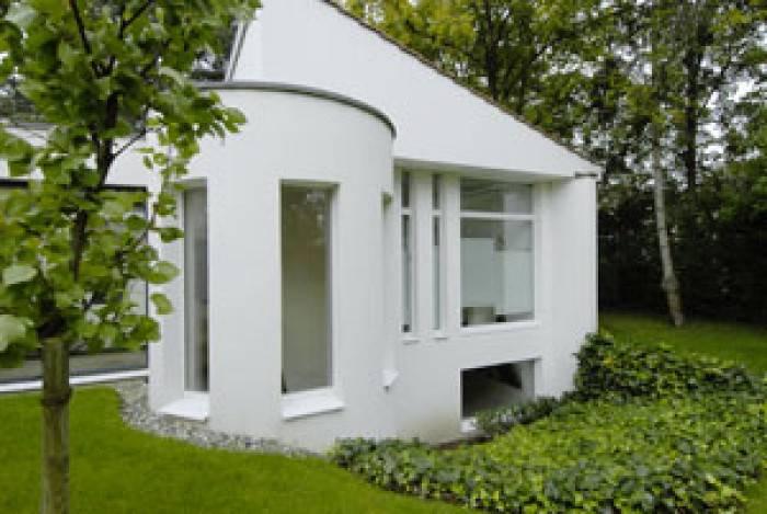 matériau maison contemporaine