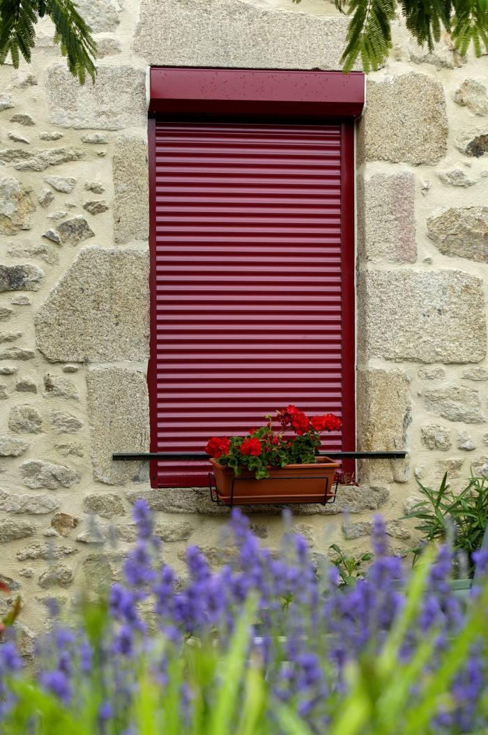 Fenêtre Avec Volet Roulant Intégré Bloc Baie Ou Caisson Extérieur