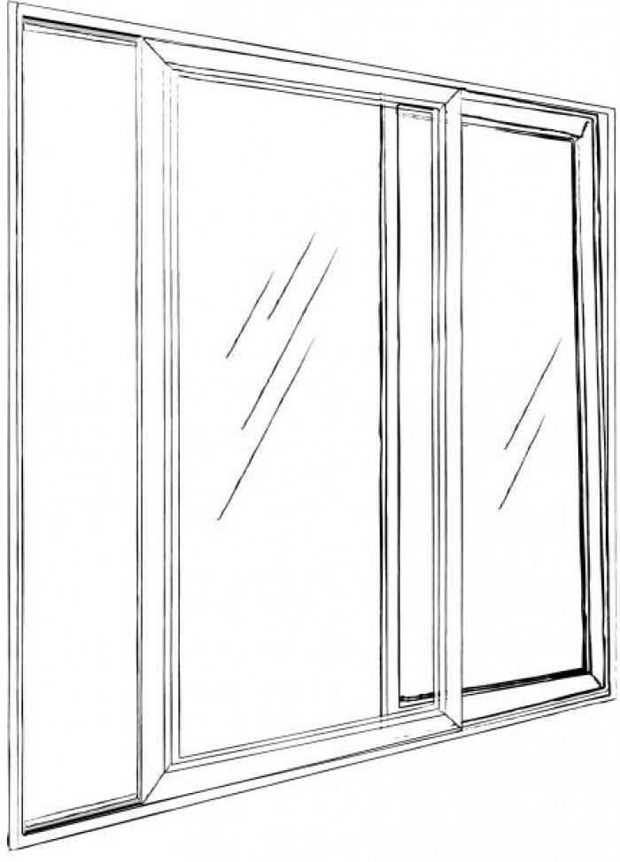 Fenêtre ouverture coulissante