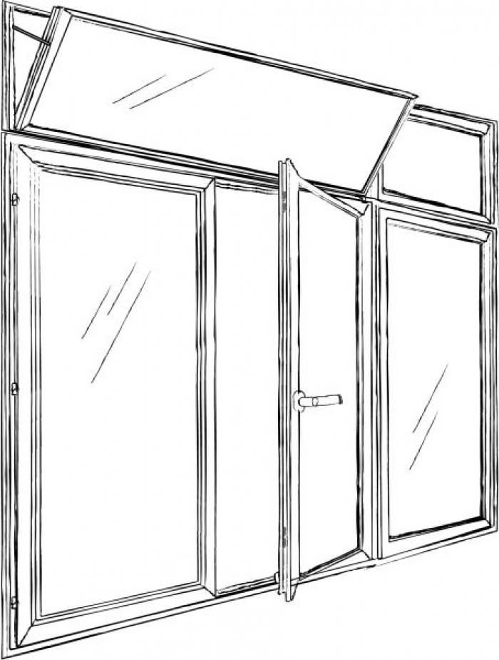 Fenêtre ensemble composé