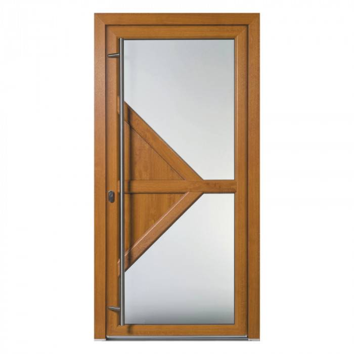Porte d'entrée PVC Harmonia