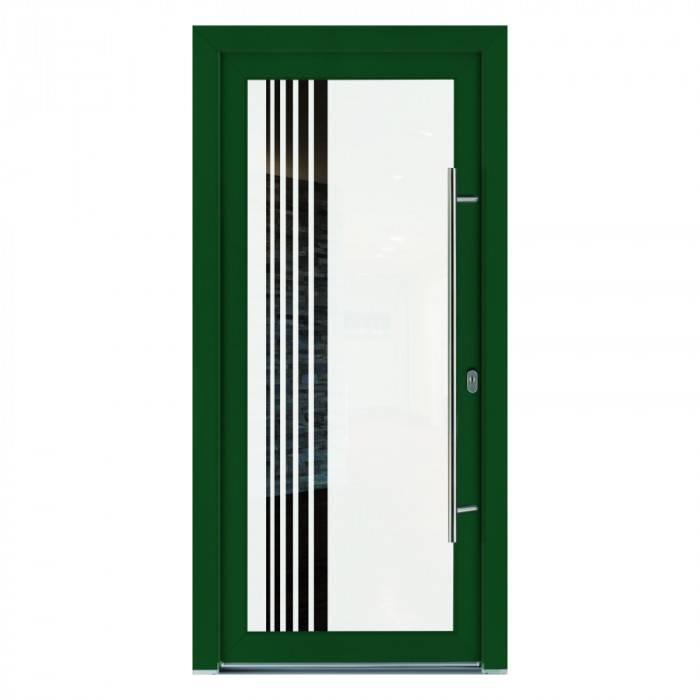 Porte d'entrée PVC Améthyste