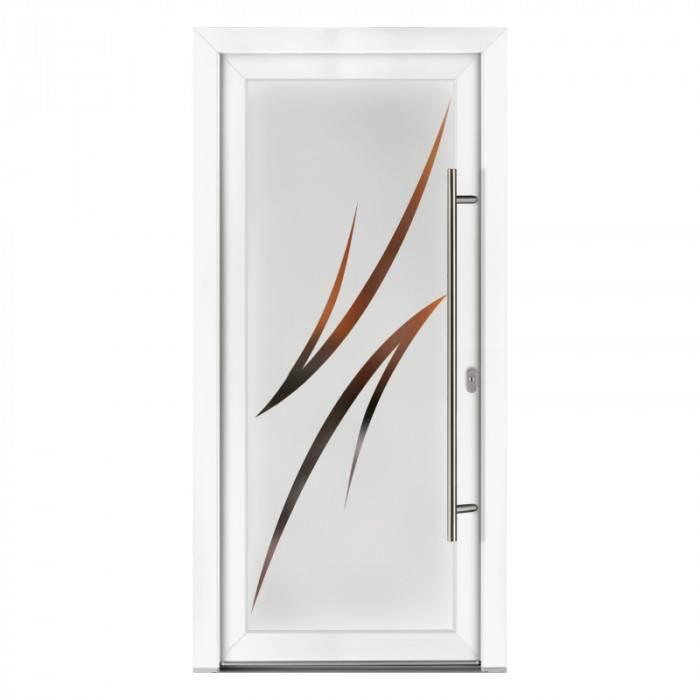 Porte d'entrée PVC Iris