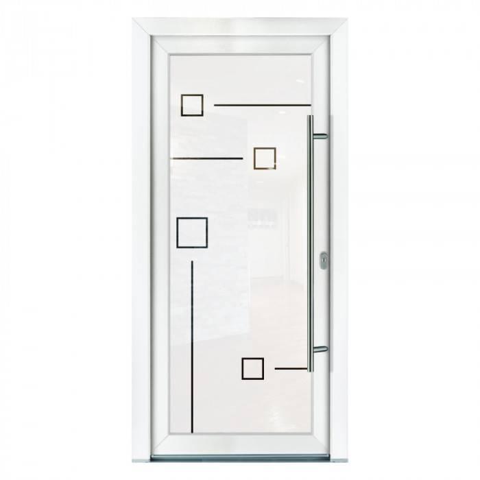 Porte d'entrée PVC Jade