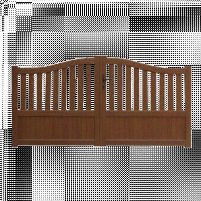 Portails, clôtures, claustras et garde-corps sur-mesure en aluminium et PVC
