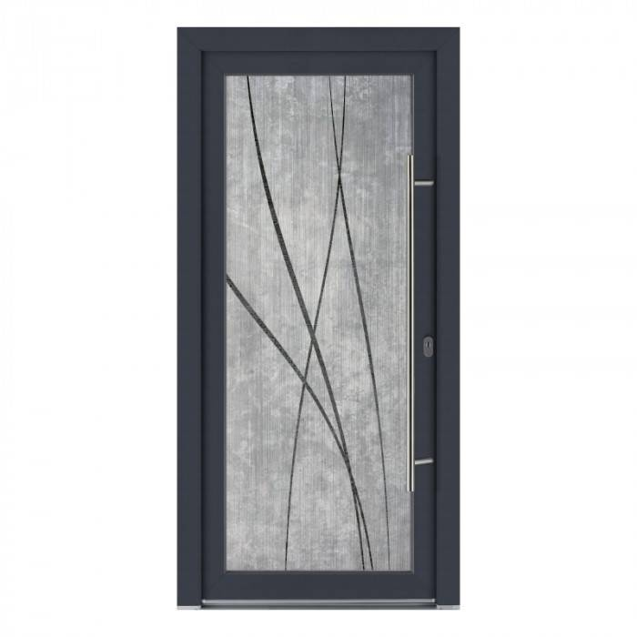 Porte d'entrée PVC Zen