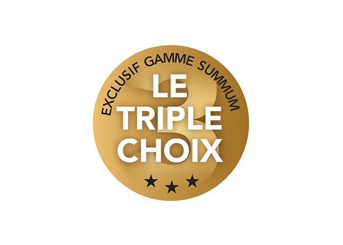 OFFRE EXCLUSIVE SUMMUM – LE TRIPLE CHOIX