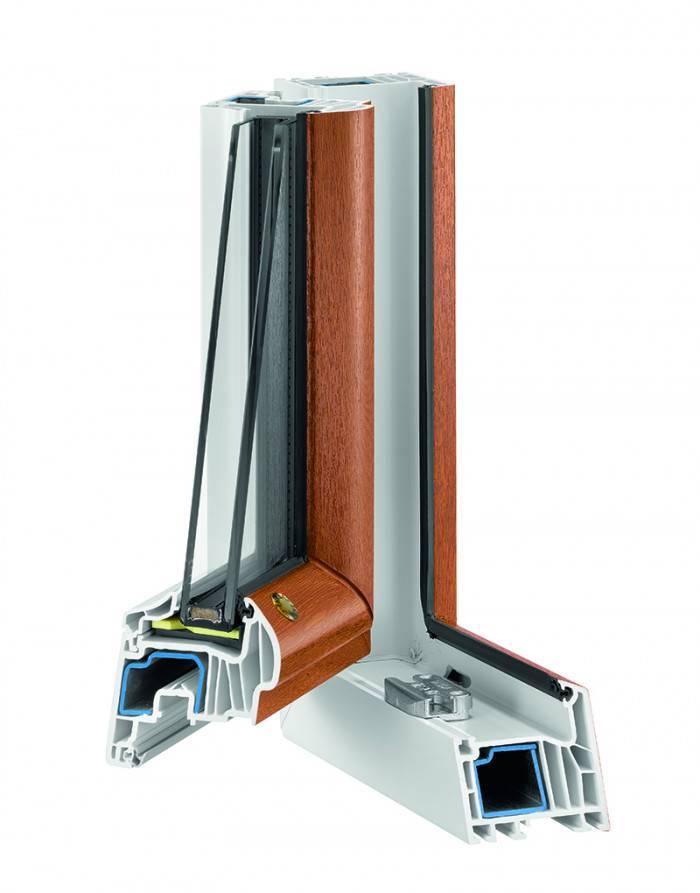 Porte fenetre PVC T70 angle