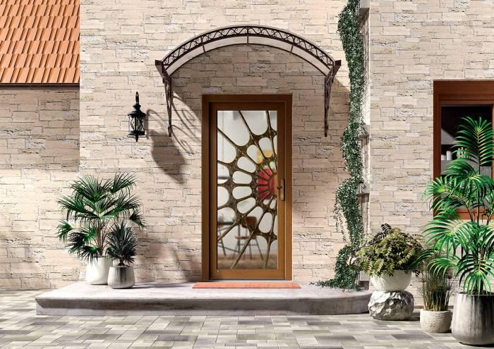 Porte ALU Kingston ambiance 3D