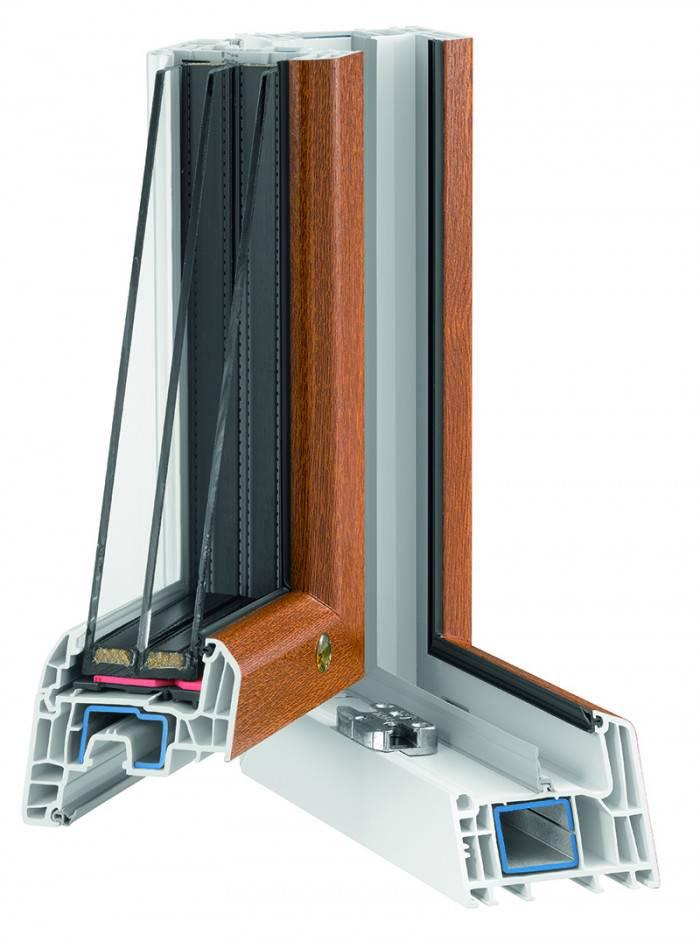 Porte fenetre PVC T84 angle