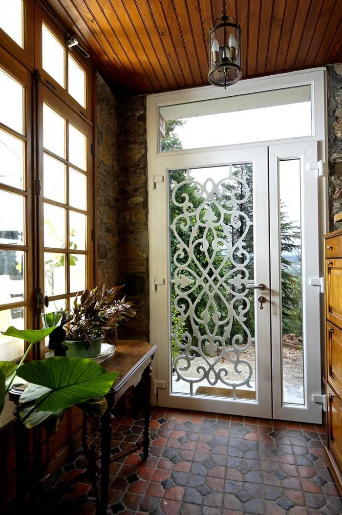 Porte Nassau PVC H84 blanc
