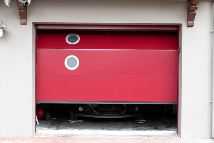 Porte de garage PGS AD Ral 3004
