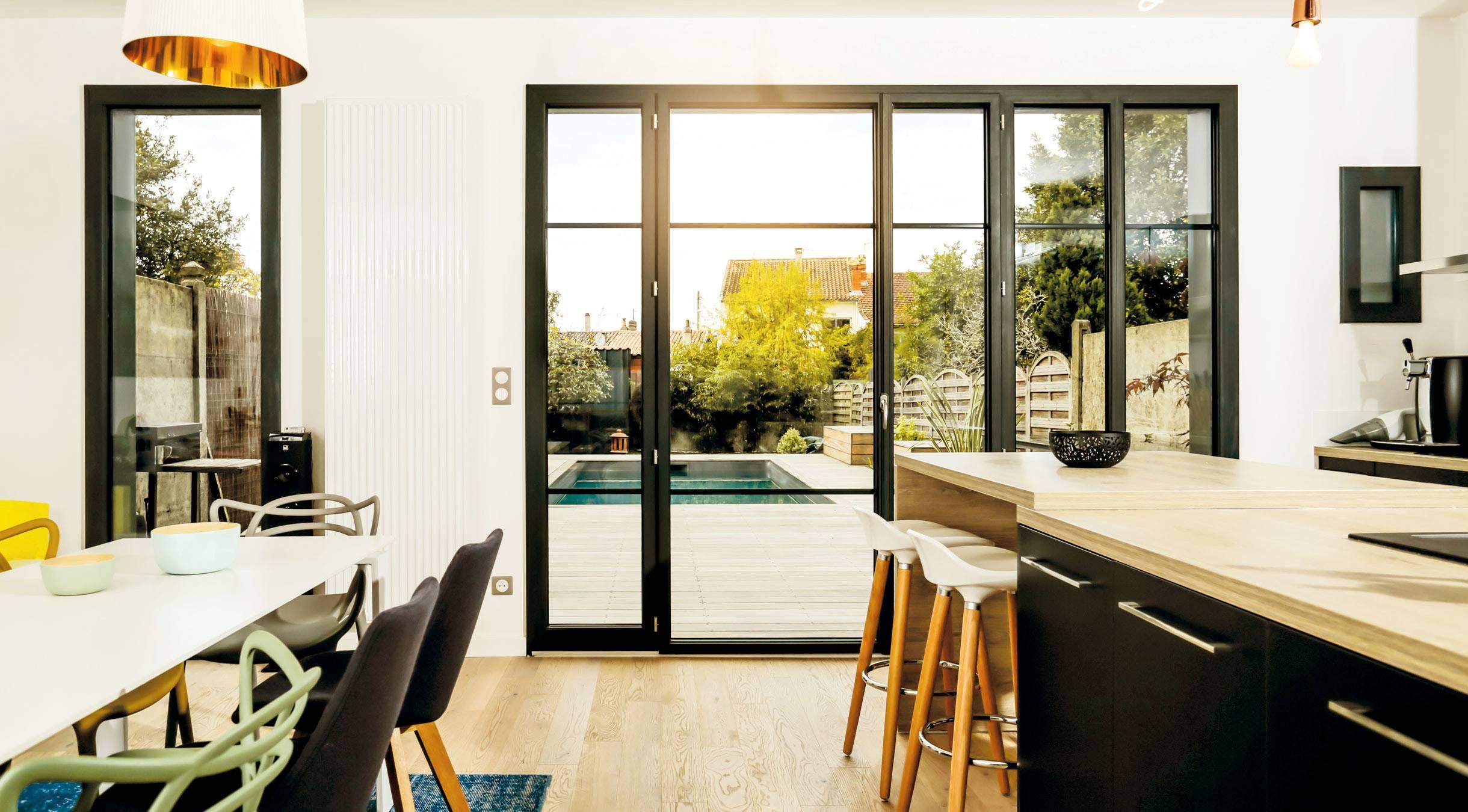 Fenetre Alu Noir Avis fenêtre alu sur-mesure – isolation de qualité | tryba