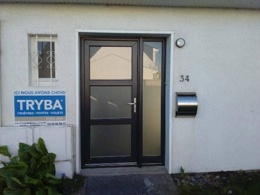 Porte d 39 entr e dunkerque tryba - Tryba porte d entree aluminium ...