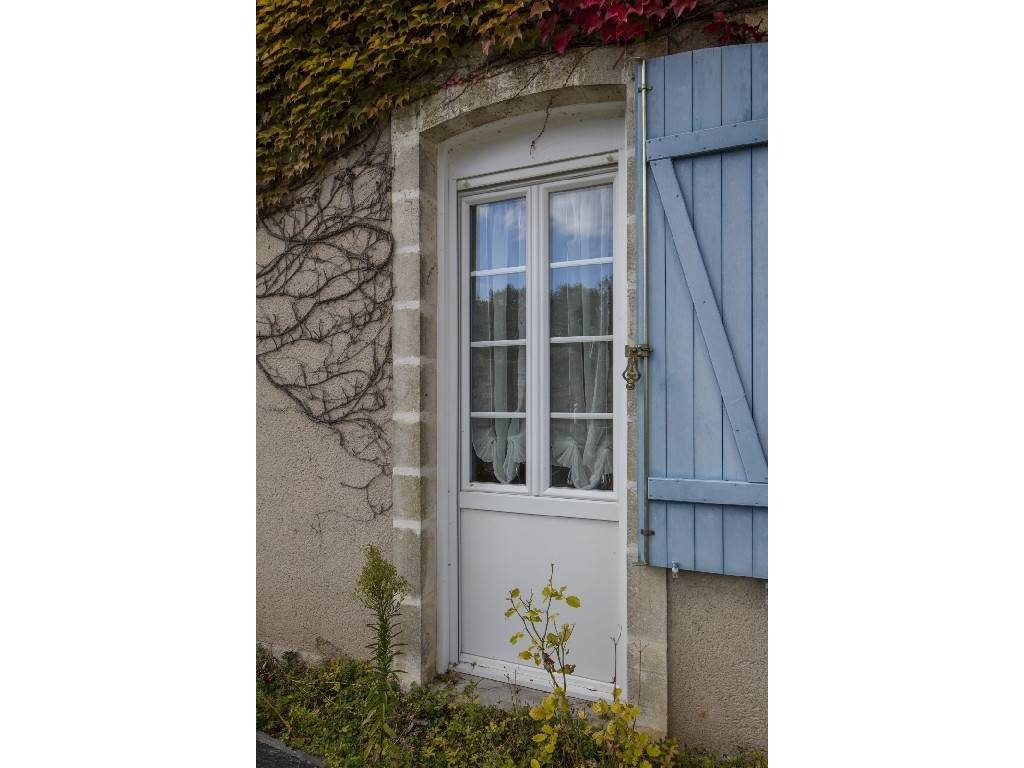 Fen tres pvc couff porte d 39 entr e alu par tryba r novation d 39 une maison dans le 44 - Tryba porte d entree aluminium ...