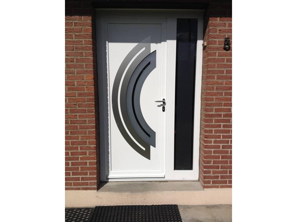 Porte d 39 entr e crespin saint saulve tryba - Tryba porte d entree aluminium ...