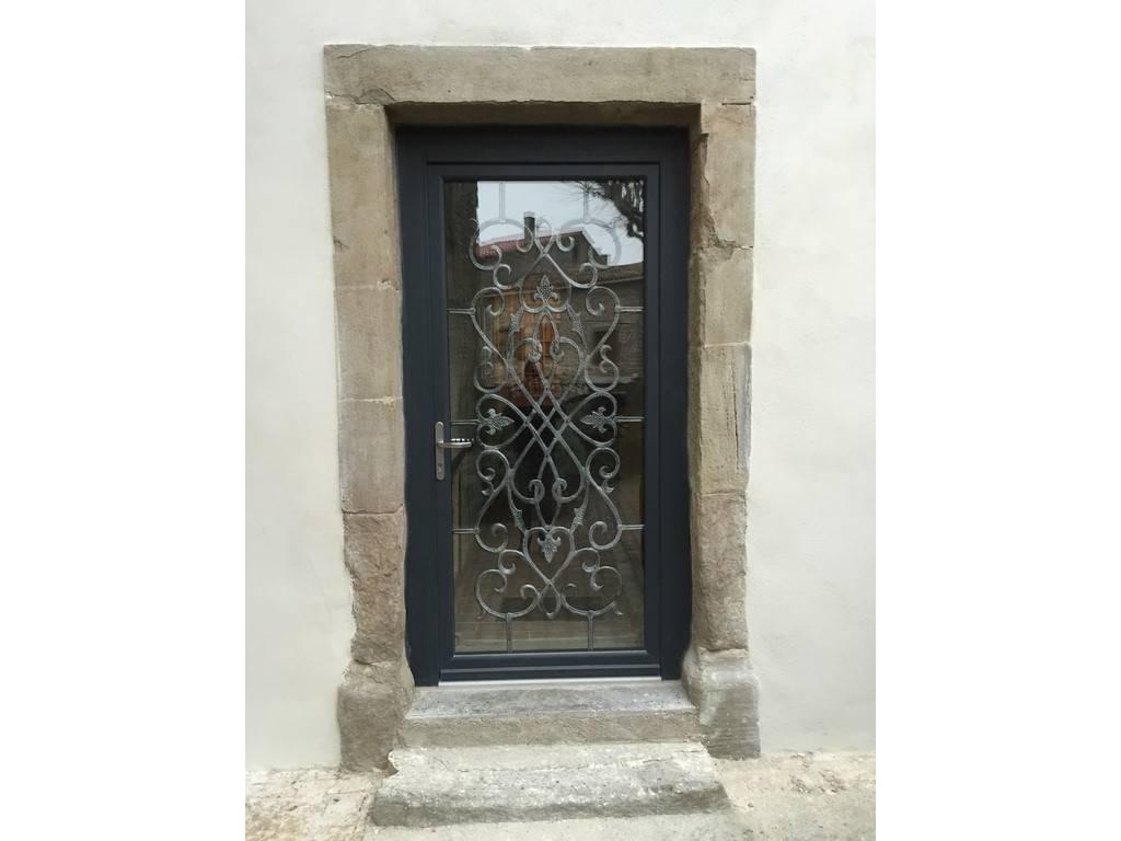 photos de porte d 39 entr e pvc et aluminium par system b tryba carcassonne. Black Bedroom Furniture Sets. Home Design Ideas