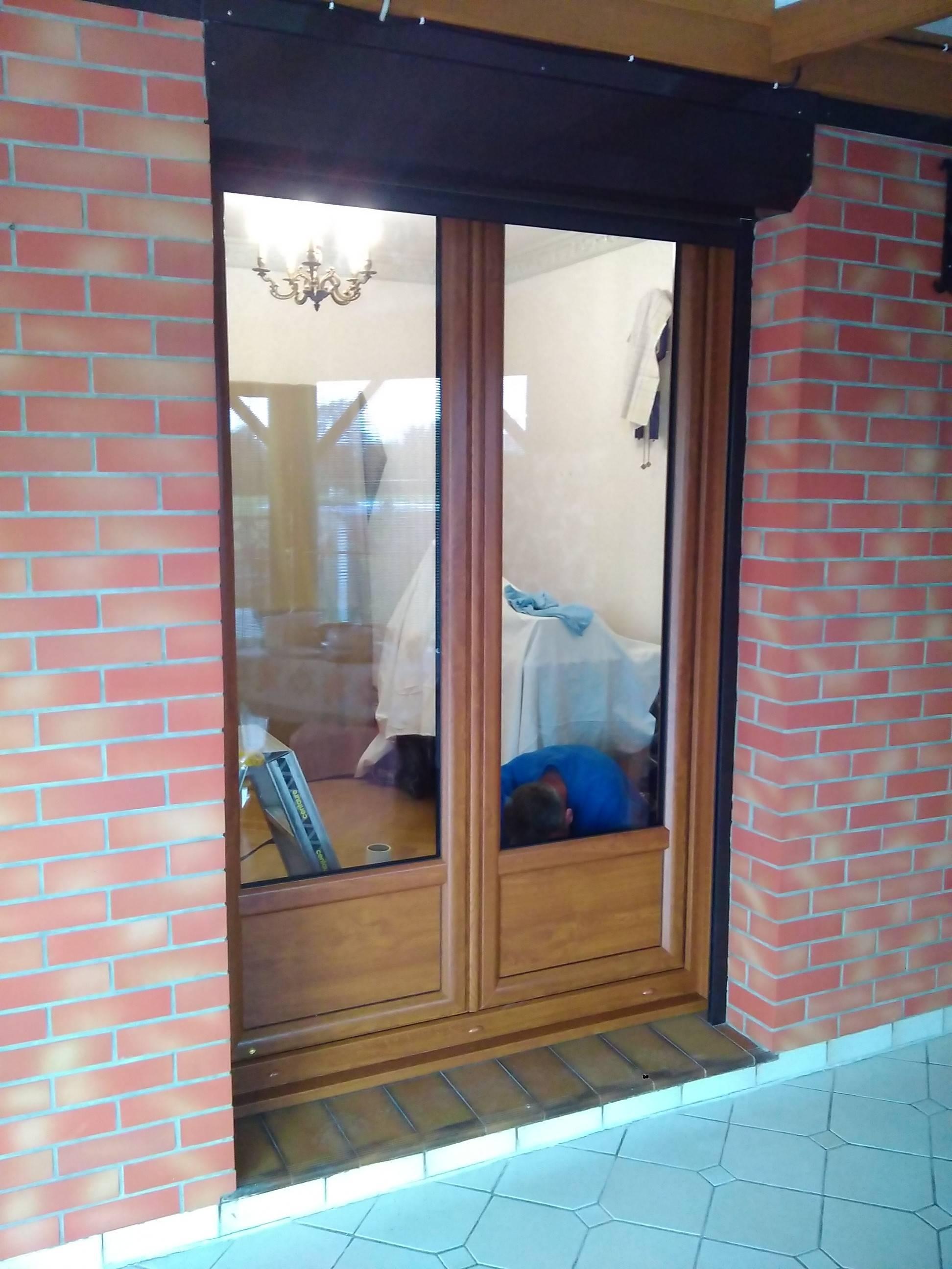 Porte Dentrée Fenêtres Portes Fenêtres Pvc Chêne Doré Tryba