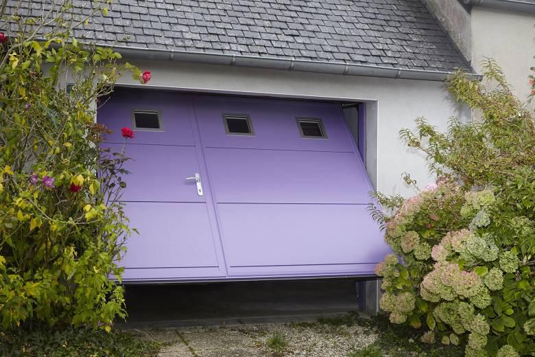 Porte de garage basculante PGB ALU DESIGN