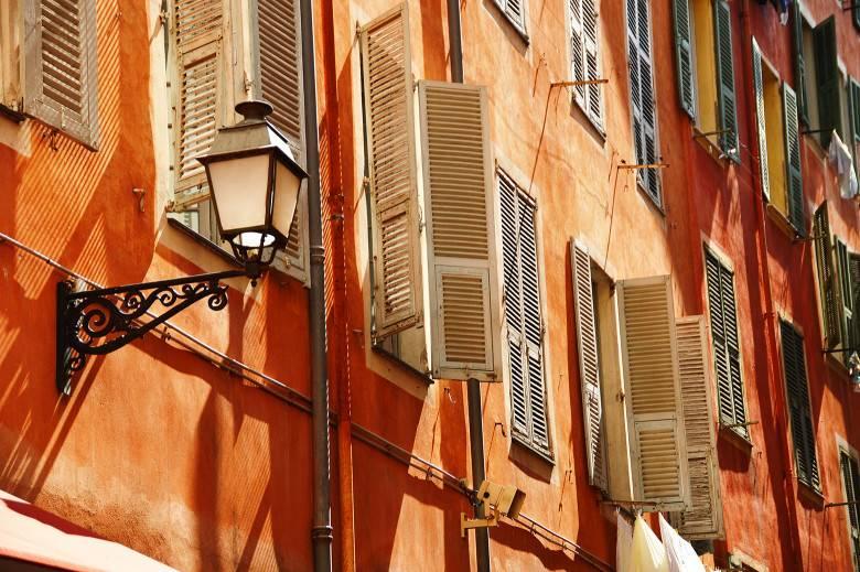 Vieux Nice volets persiennes