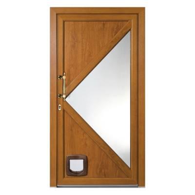 Porte d'entrée PVC Catalpa