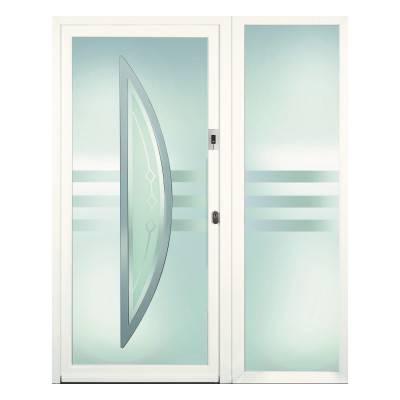 Porte d'entrée ALU Opale