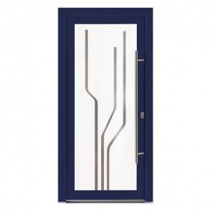 Porte d'entrée PVC Emeraude
