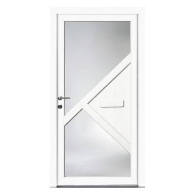Porte d'entrée PVC Hevea